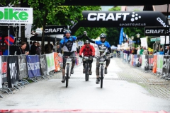 Frank u Robbi MTBTransGermany Finisher 2012