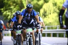 Robbi und Frank Bike TransAlp 2011 Team