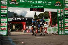 FrankRobbi BikeTransAlpChallenge Finisher 2011